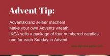 Adventskranz / Advent wreath
