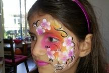 schmink voorbeelden / Lekker creatief zijn!!