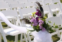 A wedding of PURPLE & GREEN / Here is a sample of some of the weddings we have done this year.
