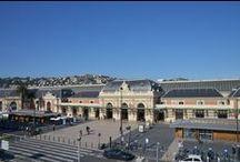 Gare de Nice Ville / La gare de Nice, de 1864 à nos jours.