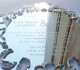 """Acrylic Invitations / Acrylic invitations are elegant, unique and guaranteed to """"WOW"""" recipients. :) We offer many acrylic colors and options at competitive prices. Also available are place cards, table signs, & save the dates to match. Made in Fort Collins, Colorado USA but shipped to anywhere in the world. Contact us for a quote: Sales@ucppromo.com, 970-282-9591"""