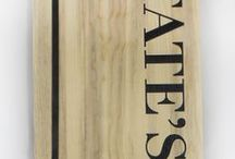 Wood Menus & Menu Boards / Wooden Menu Boards made from scratch in Fort Collins, Colorado USA using sustainable woods. Shipped to anywhere in the world and completely custom tailored for your restaurant requirement. Please contact us for a price quote: Sales@ucppromo.com, 970-282-9591