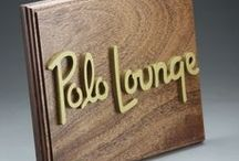 Wooden Signs / Wooden Signs made from scratch in Colorado, USA but shipped to anywhere in the world. A variety of wood species and options are available. We can make small desk signs, 6-foot display signs and everything in between. Please contact us for a price quote! Sales@ucppromo.com, 970-282-9591