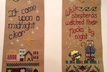 My Cross Stitch Projects / Cross Stitch Projects hand stitched by me