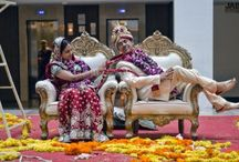 WEDDING CANDID PHOTOGRAPHY  / PRE WEDDING CLICKS in elegant wedding dresses, stills of your romance with alluring indoor and outdoor frames in dazzling wedding dresses and lovely wedding makeup. With every snap showering the eternal love.  CANDID WEDDING CLICKS from different angles, concepts and mainly the natural candid way followed by touch ups of colours and effects to make the perfect canvas for your walls.  Jabs Inc. / by Jabs Inc. Studio