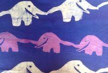 Batik Fabric / Close-ups of our #fairtrade #handmade African batik fabric.