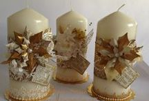 My Candles / Hand decorated candles