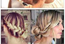 Hair Tutorials. / Hair how to's