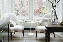 Traditional Living Rooms / Think ancestral home. Quintessentially English with particular attention to wallpapers, textiles & finishes #livingroom #luxury #traditional
