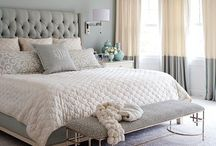 Glamorous Bedrooms / Opulent statement pieces, WOW Luxe effect. #bedroom #glamourous #statementpieces
