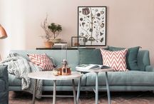 Urban Chic Living / Contemporary and clean yet functional. #living room #urban #chic