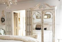Shabby Chic Bedrooms / French style, distressed look. #bedroom #shabbychic #frenchstyle #distressed
