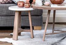 Scandi Living Spaces / A sleek and cool Scandinavian contemporary look. #living room #Scandinavian #scandilook #contemporary
