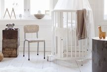 Vintage Chic Nurseries / Elegant yet comfortable mixing old with new. #baby #vintage #old&new