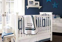 Sleek Boy's Nursery Ideas / Traditional with a modern and cool twist. #nursery #baby #modern #sleek