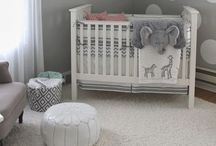 Modern & Chic Nurseries / Clean and contemporary, yet functional. #baby #nursery #contemporary #chic