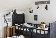 Stylish Boy's Bedroom / A cool and stylish space for a young boy that reflects effortless cool #boy #bedroom #stylish #grey