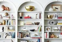 Shelving Ideas / Every home needs some sort of shelving need, whether it be decorative or necessary storage, often both. Many homes have in built shelves where others have free standing. Here we have a collection of different types, sizes, colours and lovely images on how to best organise and make the best of your shelving!