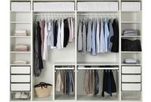 Wardrobe Organisation / Great ideas for how to set up your wardrobe and organise this part of your life! #OCD