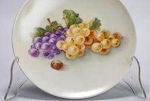 Porcellana / Oggetti in porcellana dipinti a mano...  per informazioni contattatemi in privato