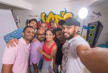 WORK SELFIE / Selfie's clicked during various projects.  / by Jabs Inc. Studio