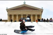 Favorite Sledding Hills PA / Check out our collection of the best locations to take the kids sledding this winter near Philly! Use Yuggler - the ultimate mobile app for kids activities and family fun - to find more locations near you.