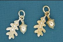 Charms inspired by Nature / As a visual artist, I'm struck by the compelling beauty of birds, butterflies and the intricacies of forms found in nature.  We try to capture and reproduce tiny details by handcrafting each charm individually.  Quality not found in mass-produced or imported jewelry.
