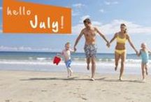 Kids Activities for July / Fun things to do with the family all month long! Get your inspiration for ideas and use Yuggler - the ultimate family mobile resource - to help you locate events and activities near you!