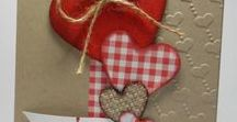 Valentines's day cards / Handmade cards