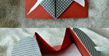 Origami cards / handmade cards