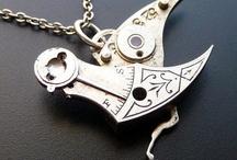 steampunk jewelry / by cindy weisflock