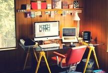 Creative Workspace / Workspace, home work e inspirações para a construção de seu próprio espaço decorado com um design diferente! / by Jairo Arruda