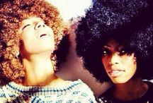 Afro Love/Natural Curly Hair / by Ashley Miller