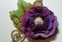 Flower Crafts / by Janet Cuzzort