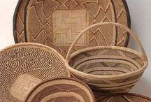 Zimbabwe Baskets / These are all lovely baskets that Wild Things Beads imports from Zimbabwe