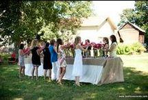 Bridal Showers on the Farm