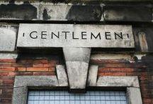 Gentlemen / by Barefoot in Amsterdam
