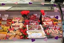 Valentine's Day / We love to help out all our romantic customers by producing some delicious goodies that will make their Valentine's meal really special.