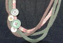 DIY Fatti da me - Collane / I miei progetti realizzati #fattiamano #handmadebyirene #necklaces