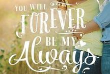 Wedding quotes and love quotes / Cute and heartfelt quotes to incorporate for your wedding ! This and more inspiration at www.wittyvows.com