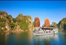 4 STARS GARDEN BAY CRUISE / These tours are the remarkable journeys through the whole area of Ha Long Bay World Heritages site including three different bays: Ha Long Bay and Bai Tu Long. We travel from the sheer limestone peaks of Ha Long Bay and on to the delights of Bai Tu Long Bay. Travelling to Bai Tu Long Bay is off the beaten track and promise to deliver many unique experiences, being far away from touristy sites. In this big area, visitors can find a pristine beautiful natural landscape.