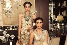 Trousseau treat / We're sharing ensembles, outfits, jewellery, bags and more - all the trousseau inspiration an Indian bride needs to trim her trousseau shopping - including some super awesome advice and ideas!  We're curating and sharing this and a lot more on Witty Vows - The ultimate guide for the Indian Bride | www.wittyvows.com