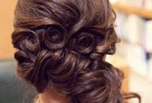 Indian Bridal Hairstyles / Major hair loving and style inspiration for the big day ladies! pretty styles to add to your bridal swag on the wedding :)