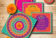 WEDDING INVITES & wedding card ideas / Indian wedding invitation ideas and stationery inspiration that will make you swoon!