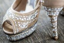 SHOES for the bride / Because there no true love like shoe love! Check out all these super pretty footwear options for you pair with your indian wear! After all, every bride deserves to have a cinderella story :)