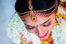 South Indian Brides / Some stunning details and ideas for the traditional treat that is a south Indian Bride