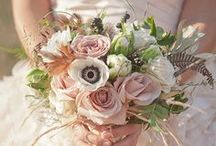 Wedding Bouquet Ideas / Fun and timeless ideas for Fresh Wedding Bouquets