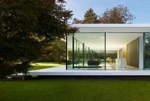 glass house / Maisons de verre