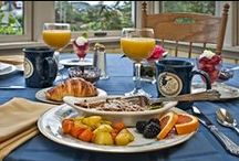 Breakfast at the Blue Goose Inn / Highlights of some of our breakfast items.