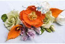 Цветы ручной лепки /   flower